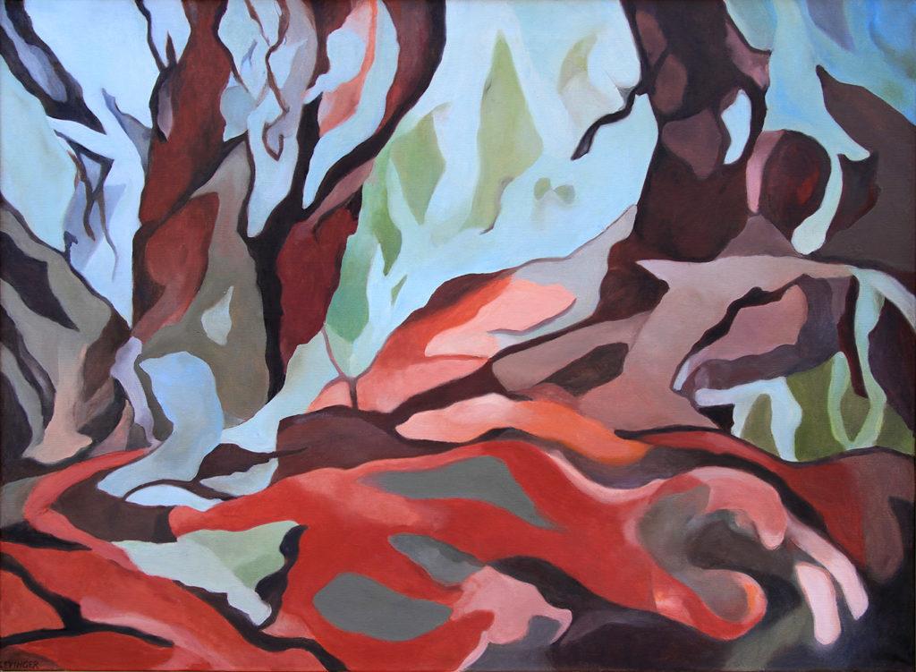 Akkord, 110 x 150 cm, Öl auf Leinwand