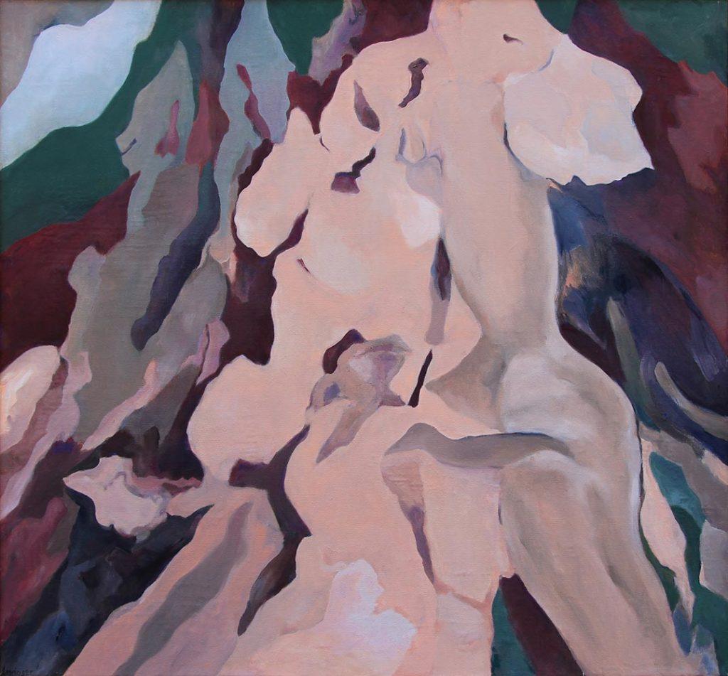 Einklang, 120 x 130 cm, Öl auf Leinwand