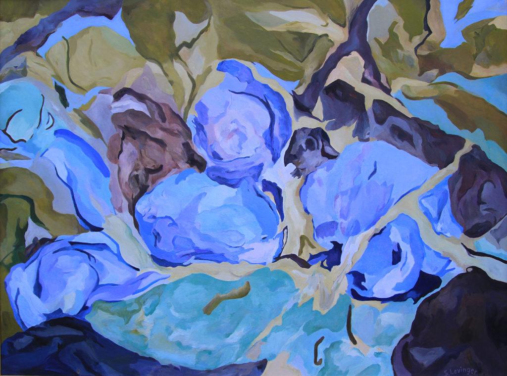 Pastorale Symphonie, 140 x 190 cm, Öl auf Leinwand