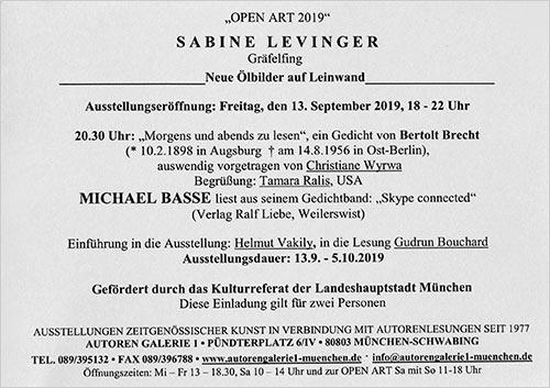 Aktuelles Sabine Levinger